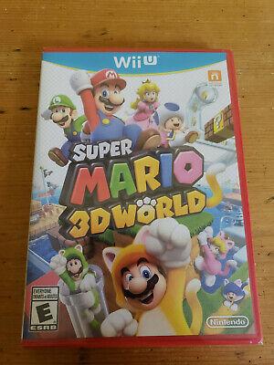 Super Mario 3D World Nintendo Wii U  BRAND NEW SEALED 2013