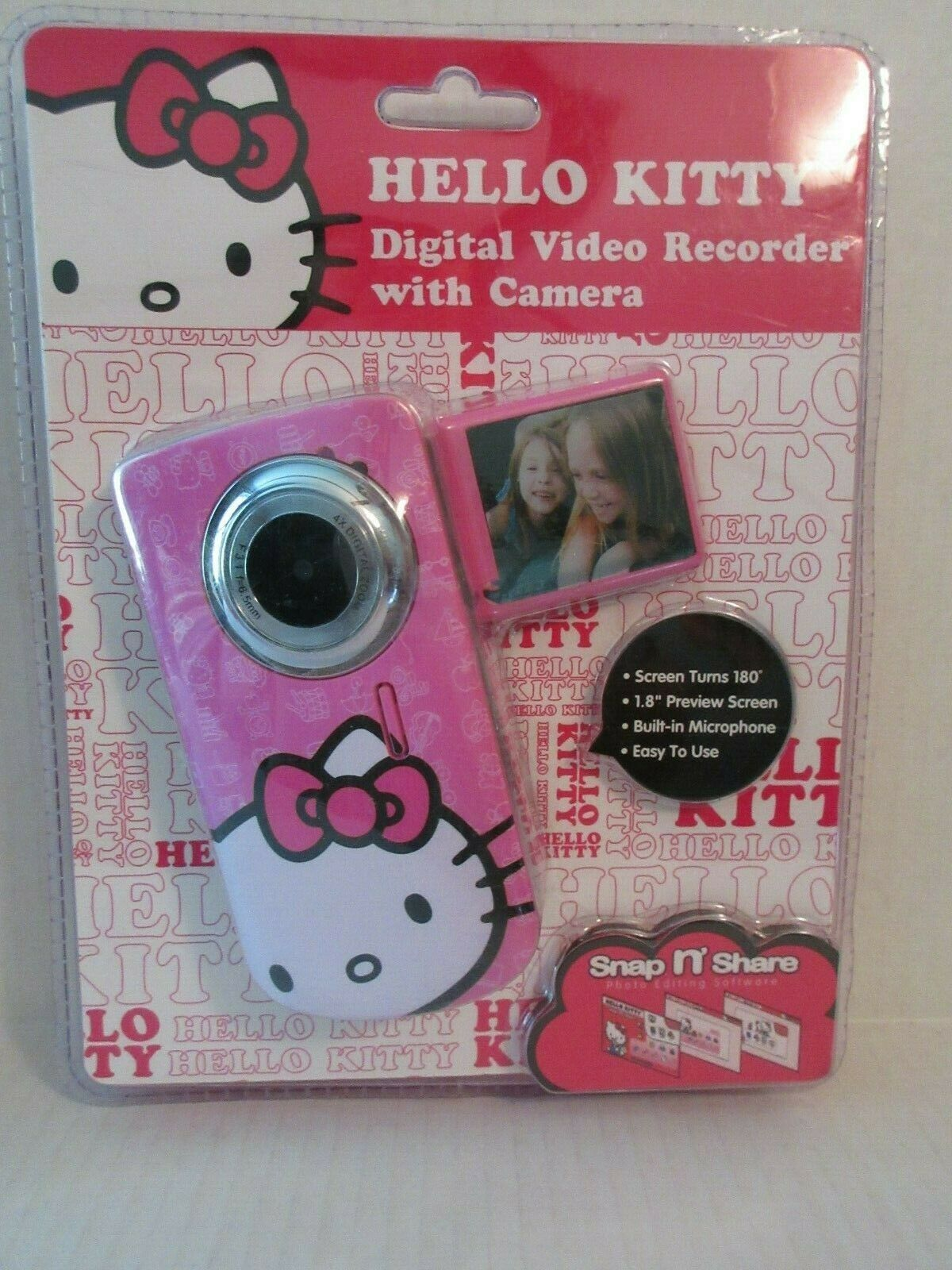 Hello Kitty Digital Video Recorder - Color May Vary
