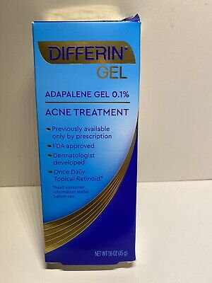 DIFFERIN GEL ACNE TREATMENT (1.6 OZ) Exp 10/2022
