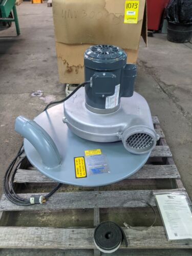 American Fan Co. TC-10 Drum Mount Dust Collector / Vacuum 1 HP 115/230V 1 Phase