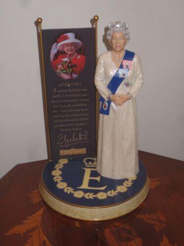 Vintage Bradford Exchange Queen Elizabeth II Commemorative Longest Reign Tribute