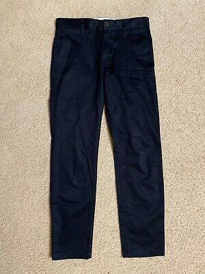 G-STAR RAW Bronson Slim Chinos MEN's Navy Blue W29 L30 pants jeans