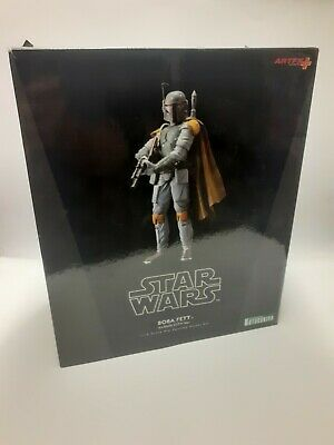 STAR WARS KOTOBUKIYA BOBA FETT CLOUD CITY VERSION ARTFX 1/10 SCALE BOXED FIGURE