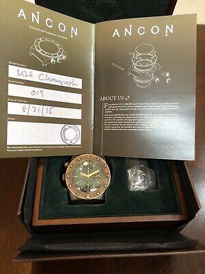 Ancon M26 Tank Bronze Chronograph ETA 7750