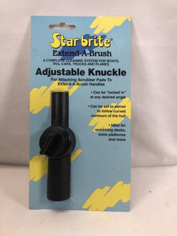 STAR BRITE 40030 0 Extend-A-Brush Adjustable Knuckle, Black