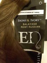 NEW  EBONY & IVORY  HAIR EXTENSIONS Belmont Belmont Area Preview