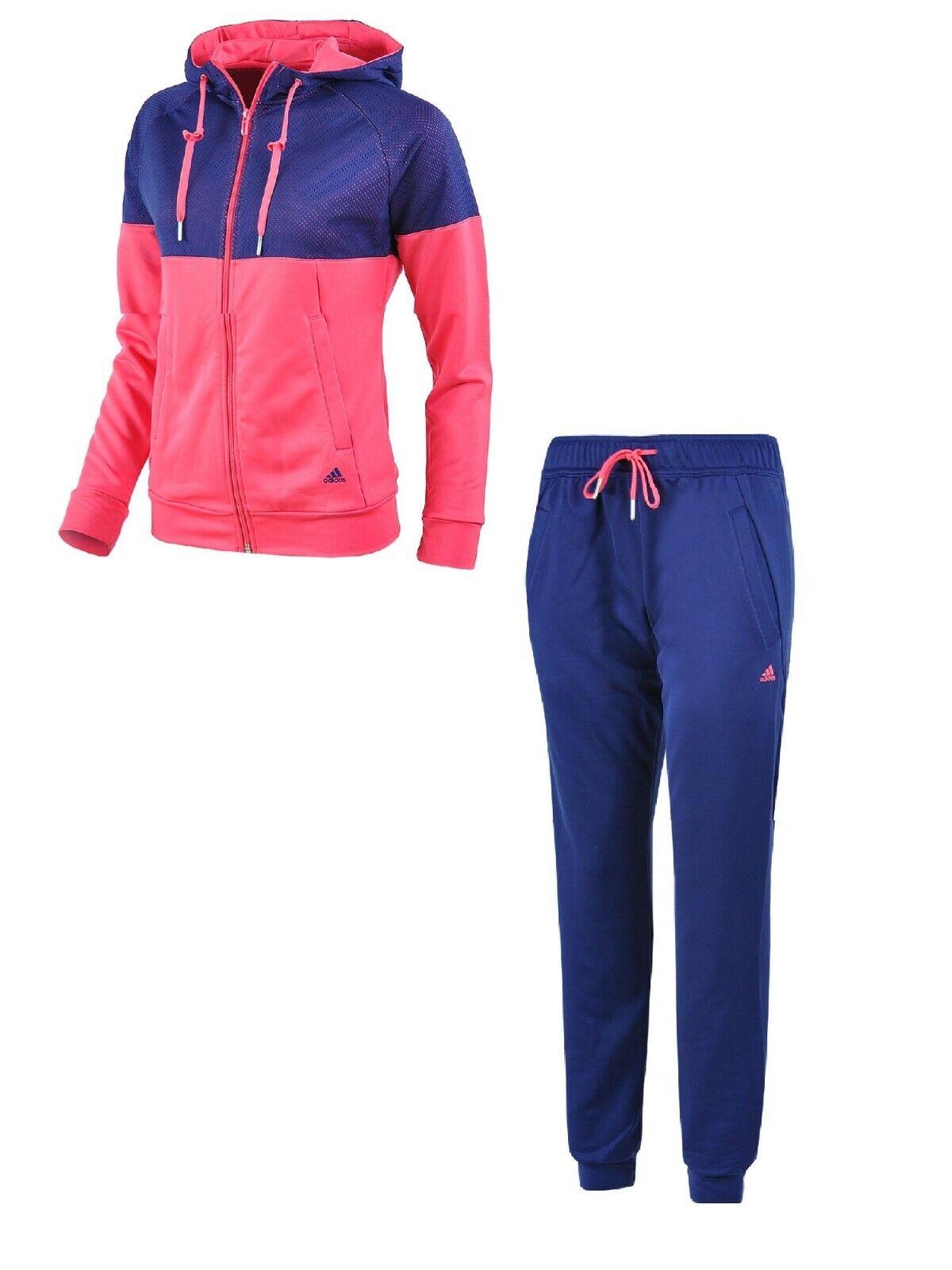 Details zu ADIDAS ClimaLite Damen Trainingsanzug Jogginganzug Sportanzug AB3984 Gr.XS XL
