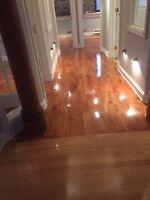 Sablage, installation de bois, flottant, escalier, réparation