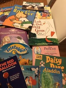 BOOKS (40) for preschooler / early primary