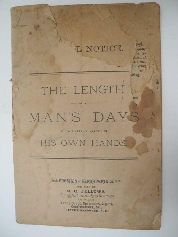 """The Length of a Man"