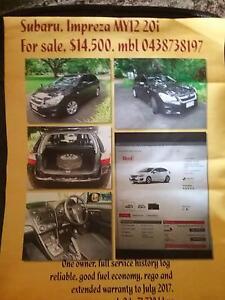 2012 Subaru Impreza Hatchback Rapid Creek Darwin City Preview