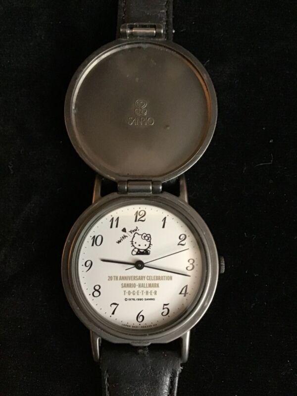 Rare Vintage Hello Kitty Hallmark anniversary Sanrio Watch