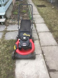 I have a 159cc yard machines by MTD
