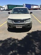 11/2006 FORD TERRITORY TS (RWD) 4D WAGON 4SP AUTOMATIC GOLD Bundamba Ipswich City Preview