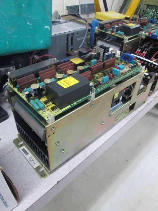 Fanuc Velocity Control Unit A06B-6047-H003 Y-Axis CNC Board Off Matsuura MC-600H
