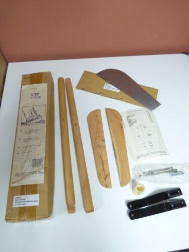 Jobars Step Edger - 42 Inch Wood Handle For Easy Edging Lawn Garden Grass
