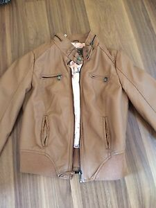 Brand new Leather jacket never worn