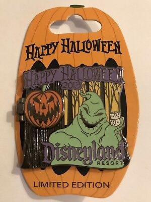 2013 LE Happy Halloween Oogie Boogie Moving Pin ()