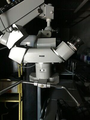 Carl Zeiss Opmi Ophthalmic Microscope W Universal S3 Stand