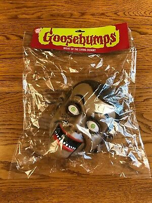 Goosebumps Halloween Mask (Goosebumps Slappy The Dummy Night of the Living Dummy Halloween Dress Up)