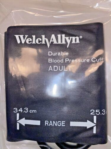 Welch Allyn Adult Durable One-Piece BP Cuff, #5082-86-2, in Sealed OEM Packaging