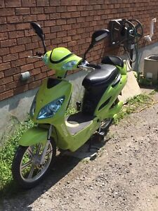 Ecoped electric moped.