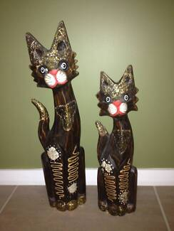 Assorted Timber (Bali Style) Cats