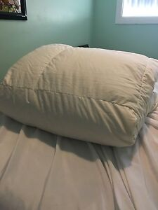 Trade queen size duvet to king size?