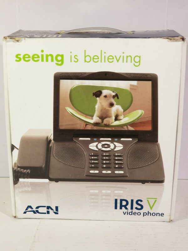 ACN IRIS Video/Conference Calling Phone Model WG4K VOIP NEW IN BOX