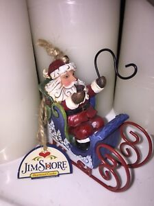 Jim Shore - Santa ornament