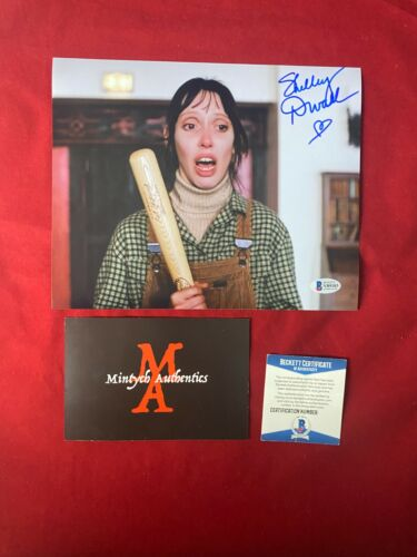 SHELLEY DUVALL AUTOGRAPHED SIGNED 8x10 PHOTO! THE SHINING! BECKETT STEPHEN KING