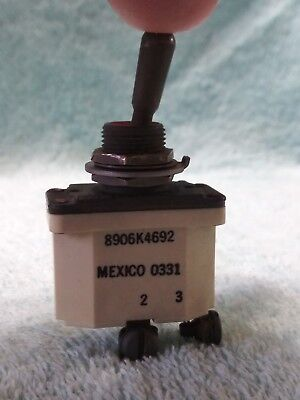 Military Generator Mep- 804a Original Toddle Switch 5930-01-366-0048 Or 88-22141