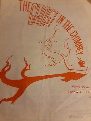 Halloween Sheet Music For Piano (1935