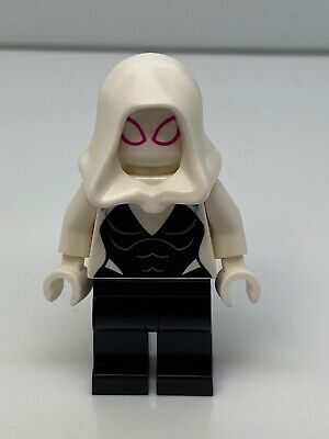 Lego Super Heroes: Ghost Spider / Spider-Gwen, White Hood Minifigure 76115