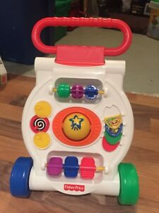Fisher Price Sit-to-Stand walker-Great deal!!