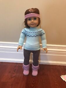 """American Girl """"frosty fair isle"""" outfit"""