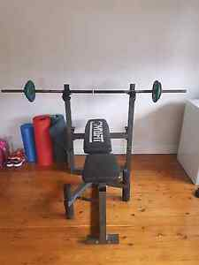 Complete set weights+bench+leg curl Kingsford Eastern Suburbs Preview