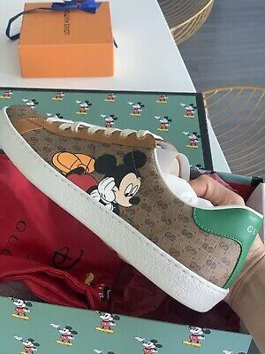 GUCCI GG Disney x Gucci Ace sneaker Men's Size 8 - Women's 40. 100% authentic