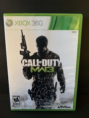 Xbox 360 Call Of Duty Modern Warfare 3 Video Game (2011) Microsoft With Manual for sale  Sarnia