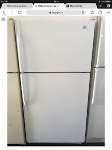 Roper white refrigerator delivery available
