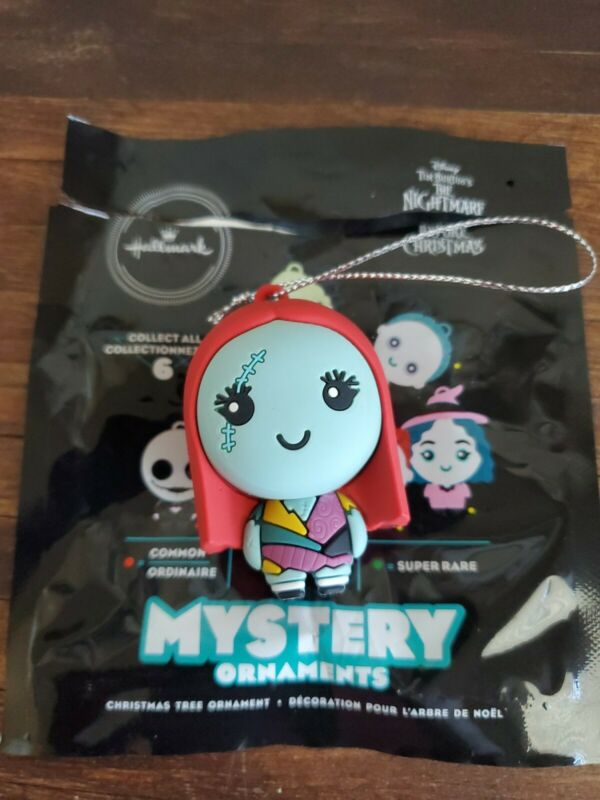 Hallmark 2020 Nightmare Before Christmas Mystery Ornament Sally- Open Package