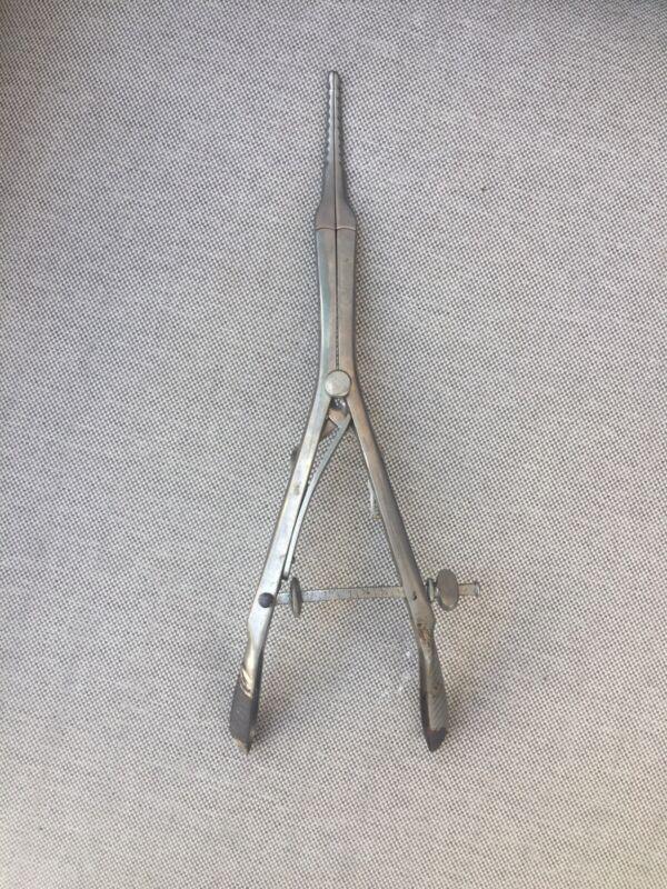 Antique Gynecology Medical Surgical Instrument Hartz Co.