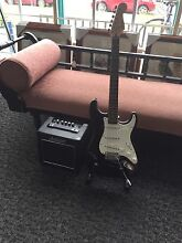 Fender Electric Guitar and Ashton Amp Warana Maroochydore Area Preview