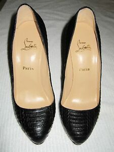 Christian Louboutin stiletto - never worn size 38.5, cost $1400 Sydney City Inner Sydney Preview