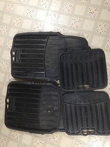 Winter mats fit most vehicles