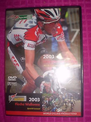 2003 Liege Bastogne Liege Fleche Wallonne World Cycling Productions DVD SET RARE
