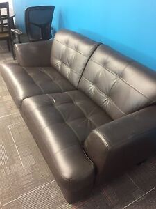 Leather Couch/Love Seat (Bought in 2012)