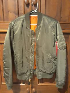 Alpha Industries MA1 slim fit bomber jacket