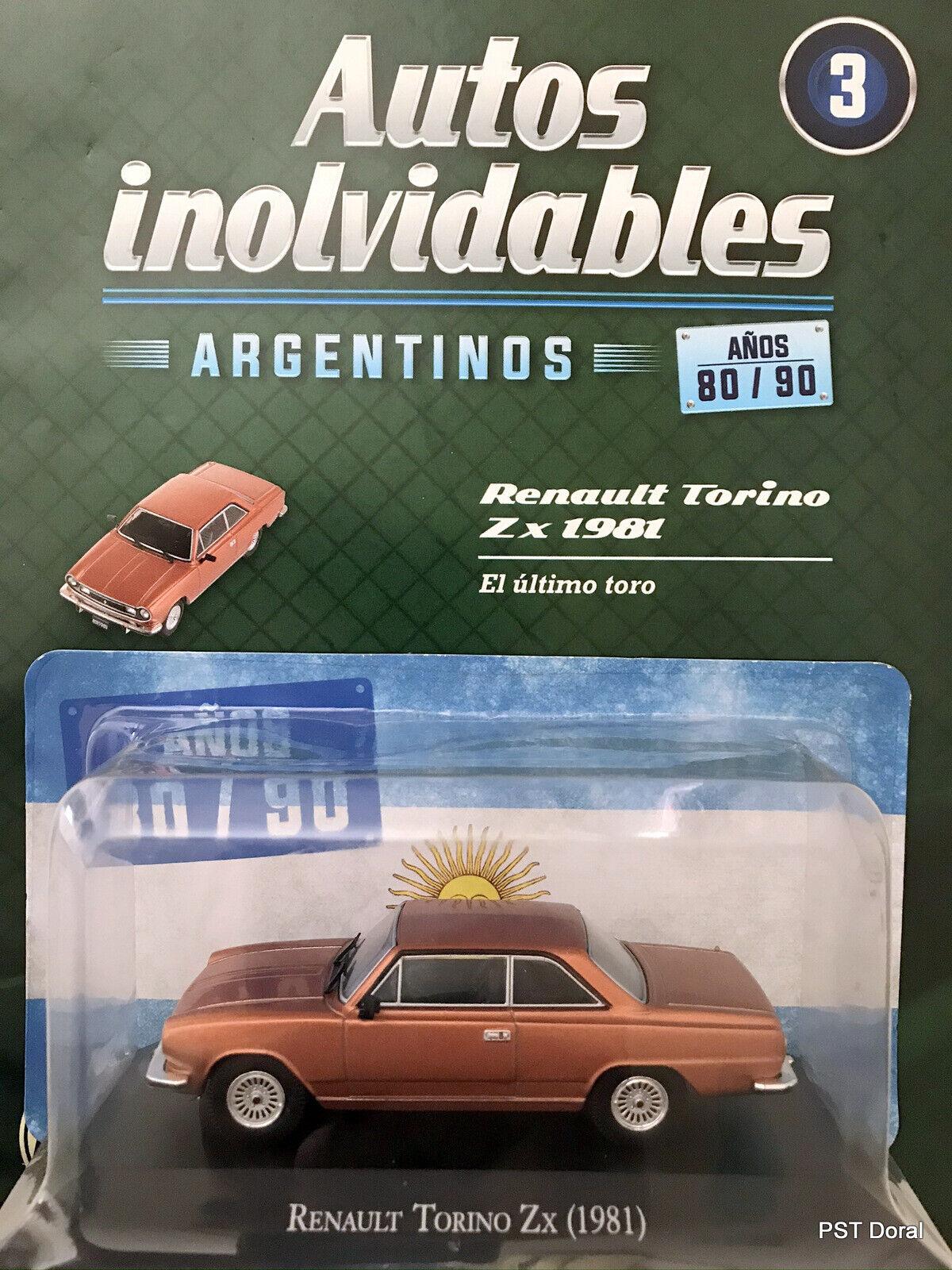 IKA Renault Torino Lutheral Comahue 1978 1//43 OPO 10 AQV13