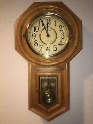 Regulator Classic Manor Pendulum Wall Clock